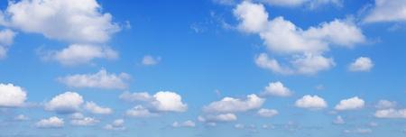 hi resolution: Blue sky hi 26MP panorama de resoluci�n Foto de archivo