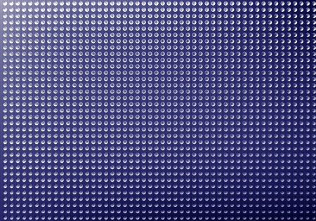 grille: Metal hole plate texture, industrial background Stock Photo