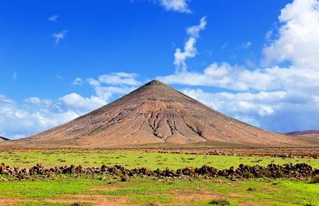 gran: volcano in gran canaria island Stock Photo