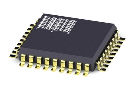 componentes: IC del circuito micro chip