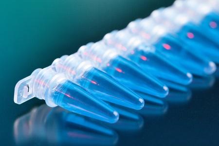 eppendorf: Development of antiallergic drugs in the laboratory Stock Photo