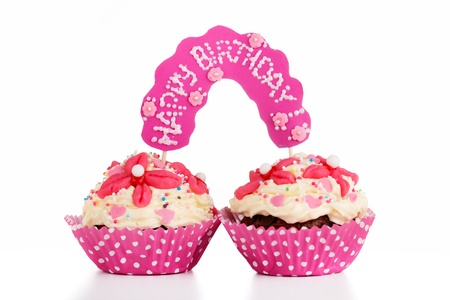 Two muffins for twins birthday photo