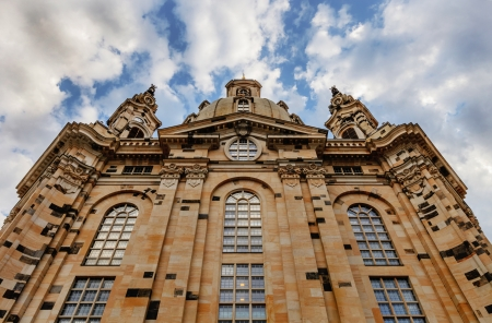 our: frauenkirche in dresden, germany