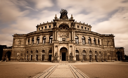 Dresden opera theater  Germany photo