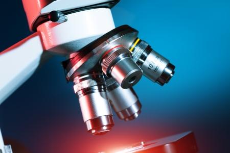 microscope lens: Scientific Biological Microscope