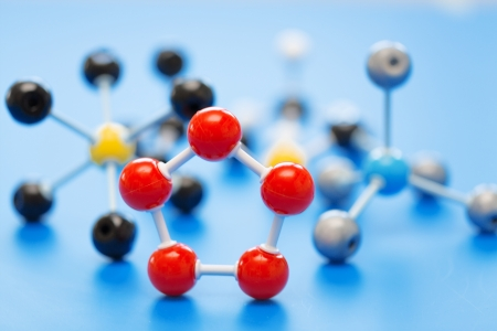 model of chemical molecule photo