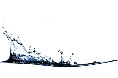 purity: purity water splashing wave Stock Photo