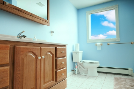interior of toilet room Stock Photo - 22648118