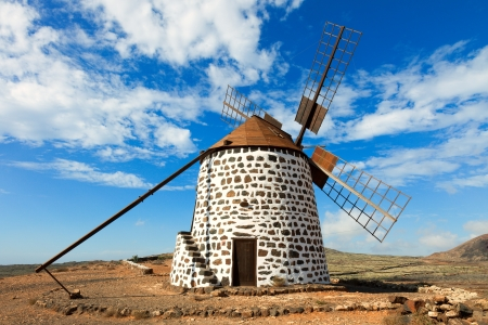 windmill on Canary Islands Stock Photo - 23422000