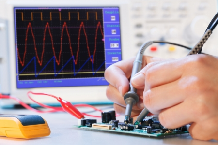 components: development of an electronic micro processor