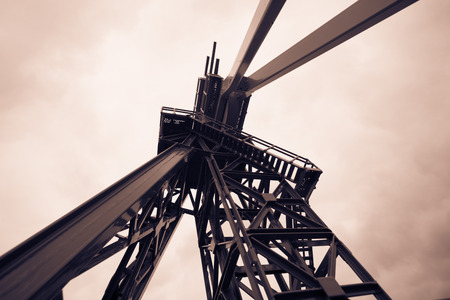 shale: Oil Drilling Rig