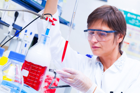 Laboratory research and development of cell therapy photo