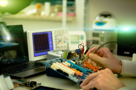 microelectronics: research in the computer lab