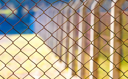 rabitz: Rabitz mesh netting Stock Photo