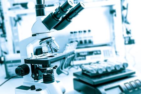 équipement: Matériel de laboratoire médical moderne Banque d'images