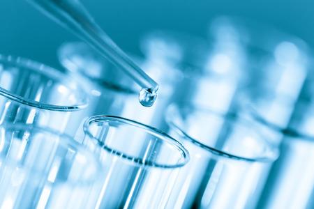 probeta: Tubos de ensayo microbiológicos y pipeta