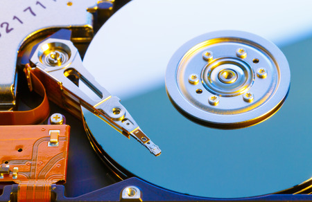 hdd: Open HDD disk Stock Photo