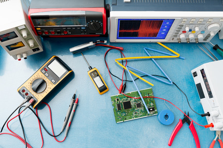 frequency: electronic measuring instruments