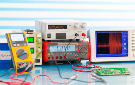 electronic measuring instruments photo