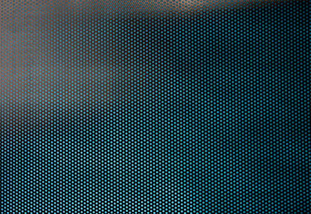 metal sheet: Texture of perforated sheet metal Stock Photo