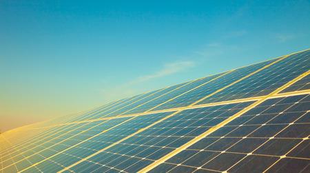Solarzelle Panel  Standard-Bild