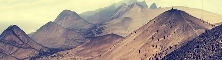 lifeless: Fantastic landscape lifeless mountains