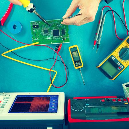 balanza de laboratorio: instrumentos de medición electrónicos, tonos foto