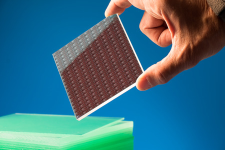 integrates: A lab on chip is device integrates several laboratory processes in one device, mostly LOC based on glass plate