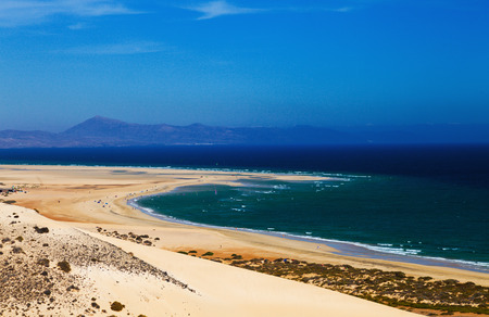 canarian: Canarian sand beach Stock Photo