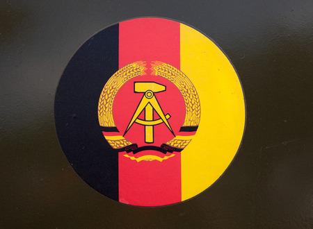 gdr: Emblem of of the GDR