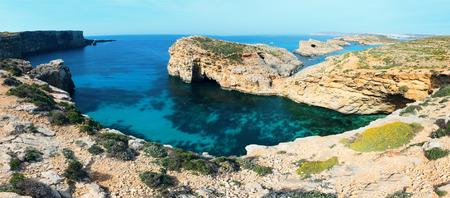 blue lagoon: blue lagoon Comino island Malta Gozo