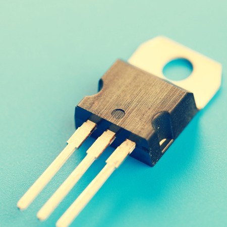 transistor: semiconductor transistor
