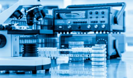 metro de medir: Equipos de laboratorio de química física Foto de archivo