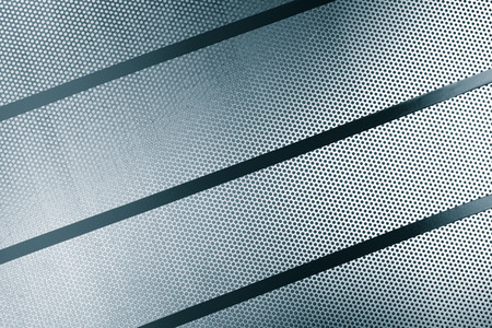perforated: Perforated metal sheet background