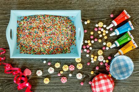 decoracion de pasteles: Set para decorar pasteles