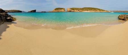 destination scenics: blue lagoon Comino island Malta Gozo