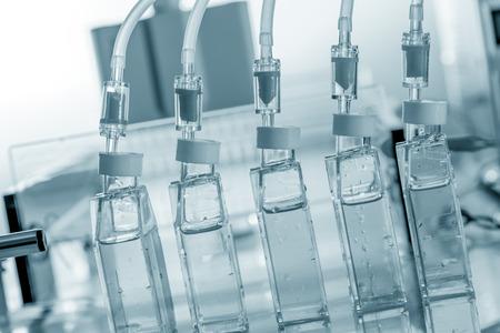 farmacia: biorreactor en el laboratorio bio Foto de archivo