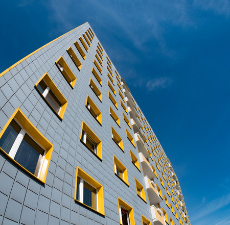 aluminium: abstract architecture background
