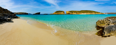 The Blue Lagoon on Comino Island, Malta Gozo