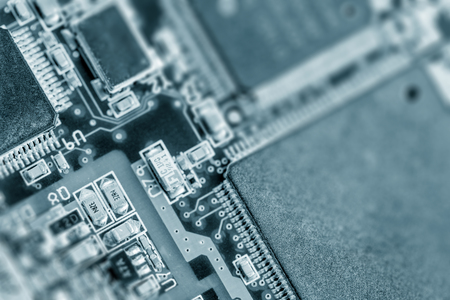 pcb: recycle old electronics pcb components