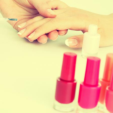 body paint: esmalte para las uñas