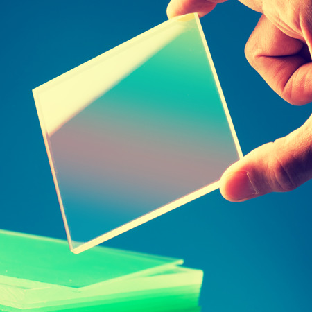 bulletproof: Bulletproof super hard glass based on structured nanocrystals
