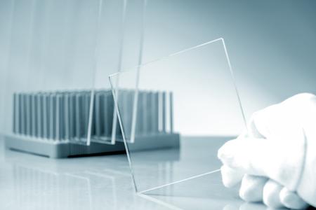 Bulletproof super hard glass based on structured nanocrystals