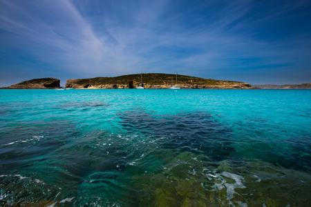 blue lagoon: Blue Lagoon Island Comino Malta Gozo