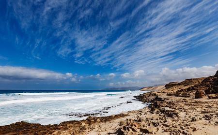 claen: Northern Fuerteventura, Playa del Castillo beach close to El Cotillo