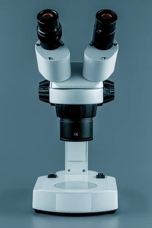 microscope isolated: Microscope isolated