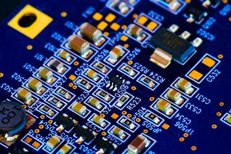 Microchip on PCB printed circuit board