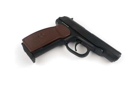pm: The Makarov pistol or PM is a Russian semi-automatic pistol, it became the Soviet Unions standard military and police side arm from 1951
