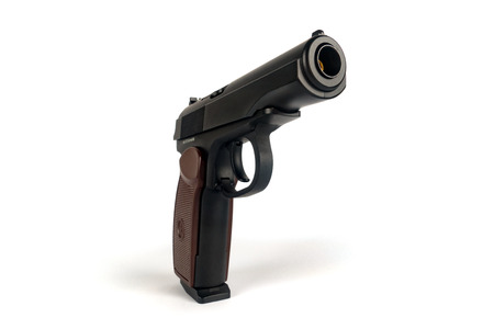 automatic pistol: The Makarov pistol or PM is a Russian semi-automatic pistol, it became the Soviet Unions standard military and police side arm from 1951