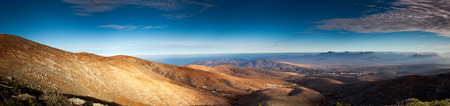 fuerteventura: Panorama of Fuerteventura canarian island